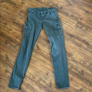 7 for All Mankind Skinny Cargo Pants 26